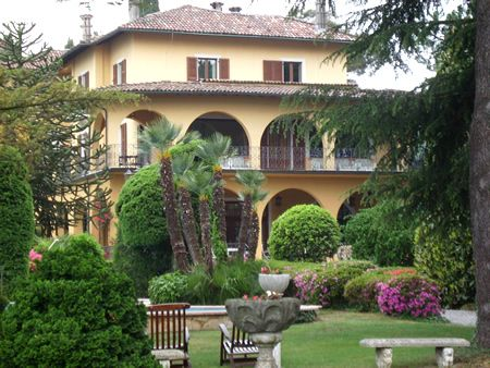 Park of Villa La Collina   Griante #lakecomoville