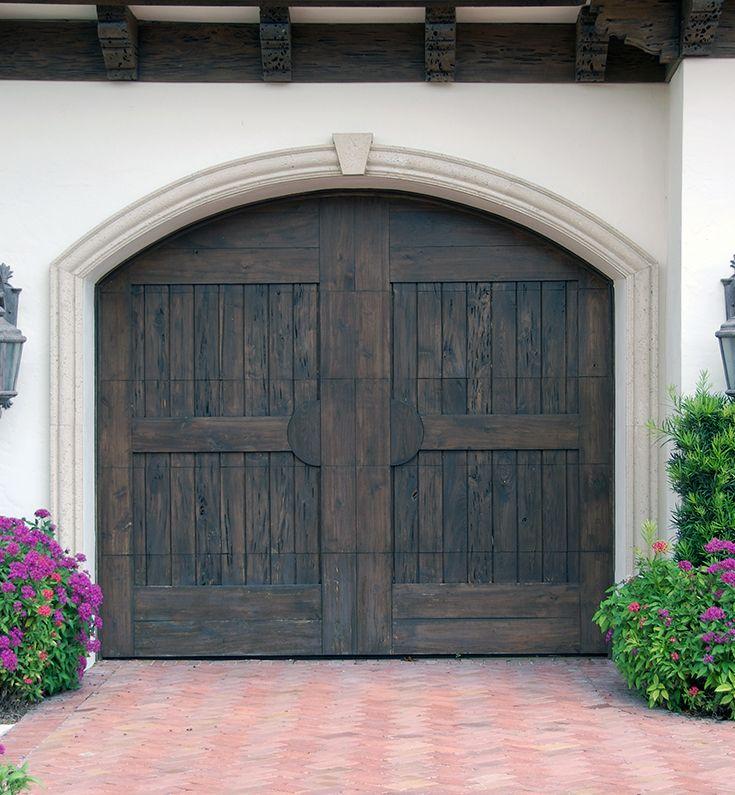 Best 25 wood garage doors ideas on pinterest wooden for Composite garage doors that look like wood