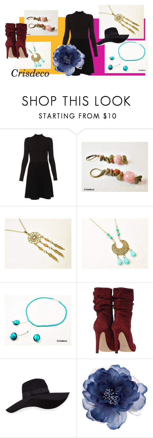 """""""Cocktail"""" by cristina-birau on Polyvore featuring Paule Ka, San Diego Hat Co., Accessorize, chic, jade, trend, dreamcatcher and 2016"""