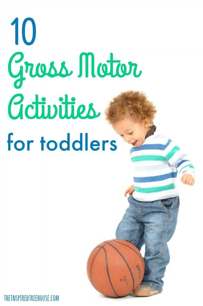 393 best gross motor development images on pinterest for Motor skills for toddlers