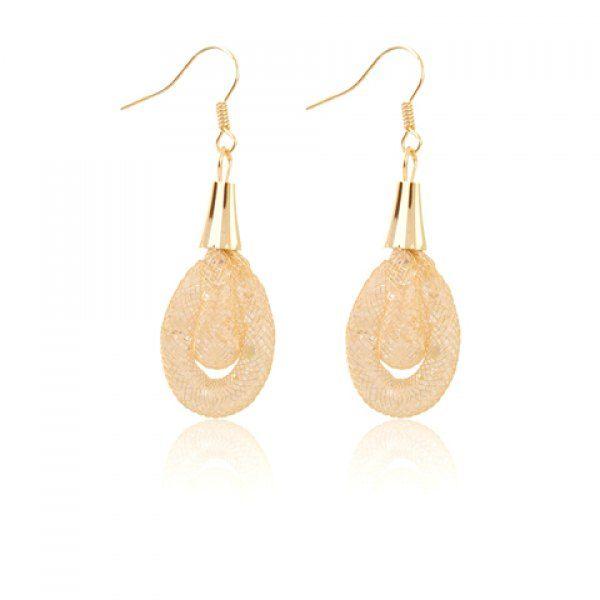 Pair of Dazzling Women's Crystal Oval Pendant Earrings #shoes, #jewelry, #women, #men, #hats