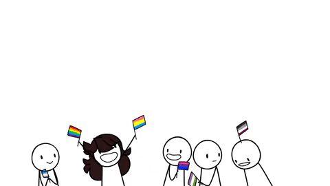 Spoop Salamander — Yay pride flags! :D (The vi…