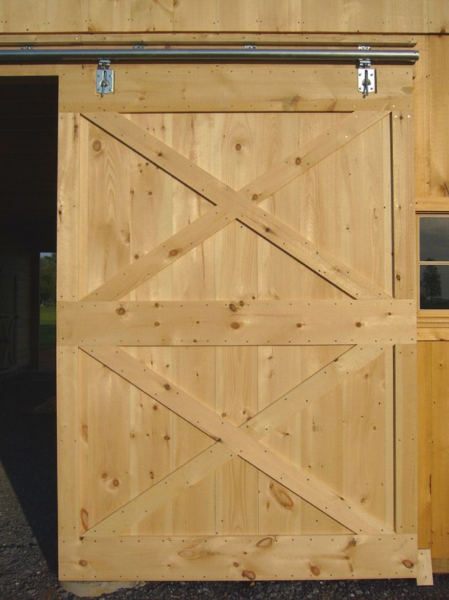 How to build a shed door with plywood | Shed doors ...