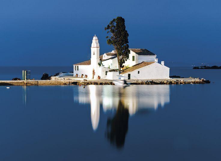 Monasterio de Vlacherna, Corfú. Grecia.  Autor: Daniel Solabarrieta