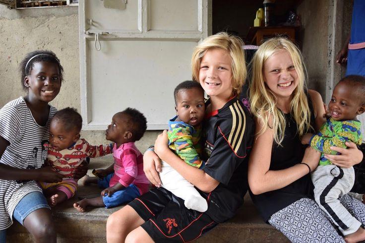 Babies, living in Uganda.