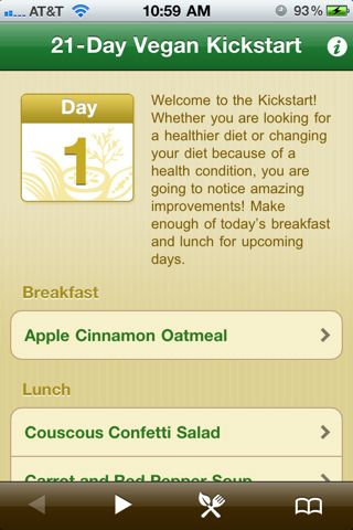 21-Day's of great tasting meal, to improve your health meal planning app.