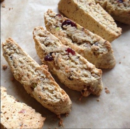 Why, might you ask, would I revise a perfectly good Christmas Cranberry Biscotti recipe? Well, rest assured, my gluten free readers, it's not because this r