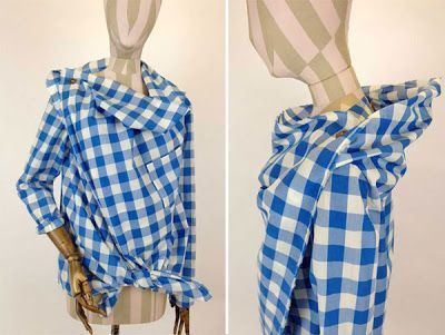 Free pattern: Vivienne Westwood Drape Shirt
