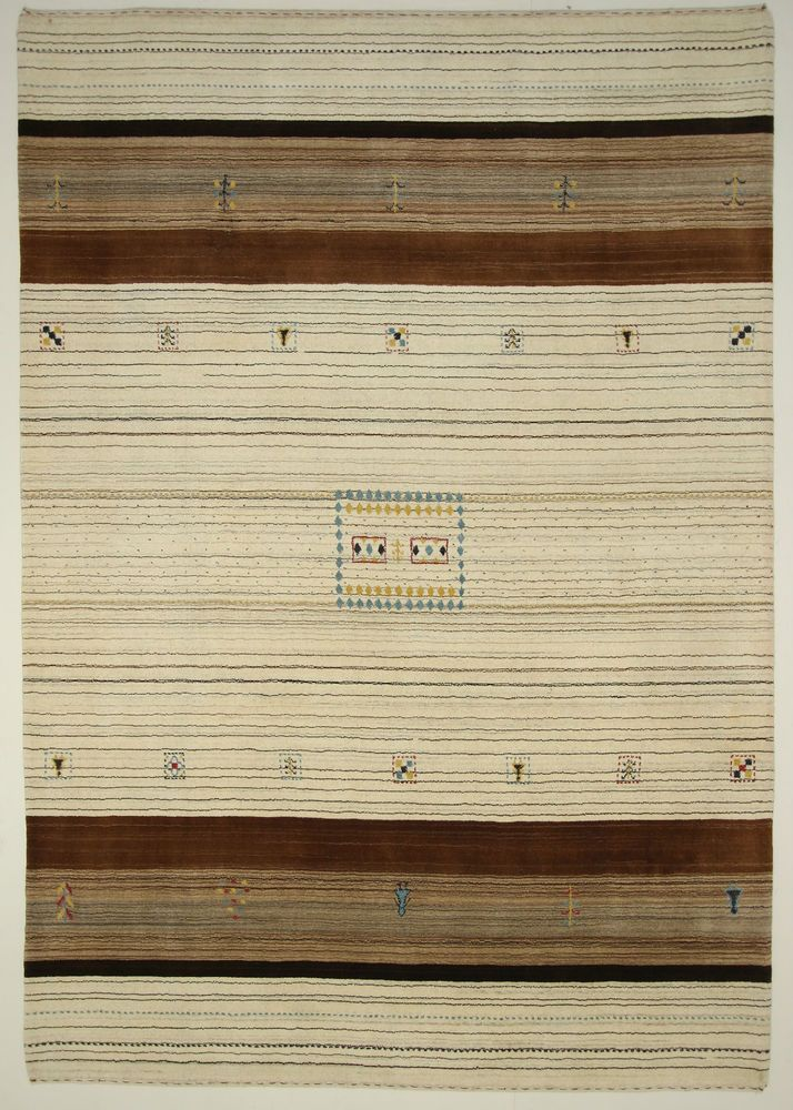 Loribaft  Gabbeh Teppich  Modern  Alfombra oriental carpets and rug 293 x 205 cm