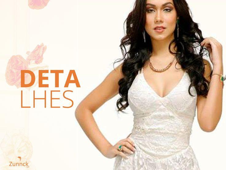 A textura de renda nesse vestido está linda! Que tal experimentar?