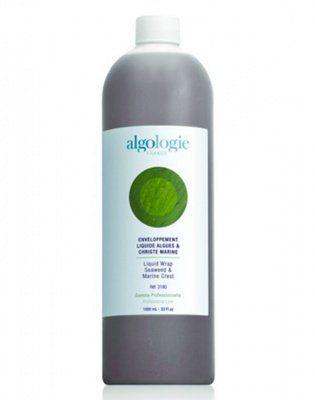 Жидкость с водорослями и морским критмумом для обертывания Algologie, 1000 мл. от Algologie