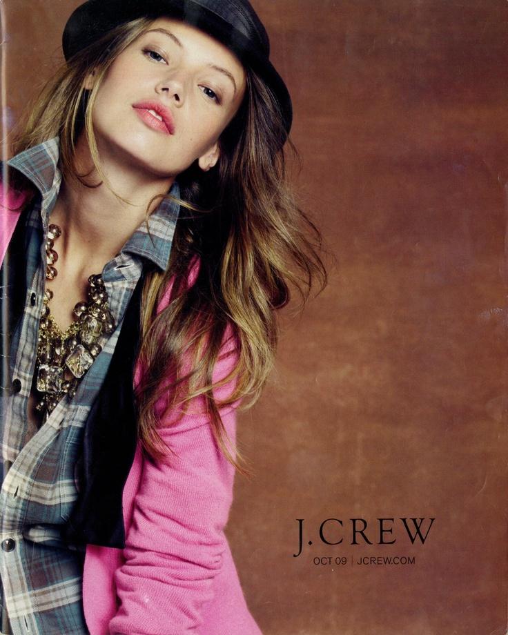 J. Crew October 2009 catalog front cover. See the full catalog at http://thejcrewarchives.blogspot.com/2011/06/j-crew-october-2009-catalog.html