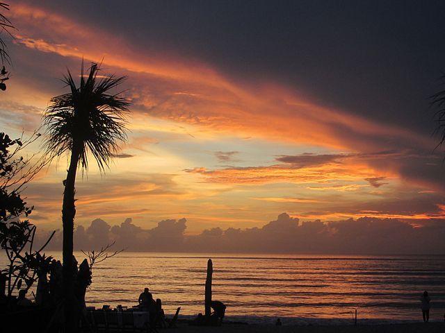 Где самые красивые закаты на Бали?