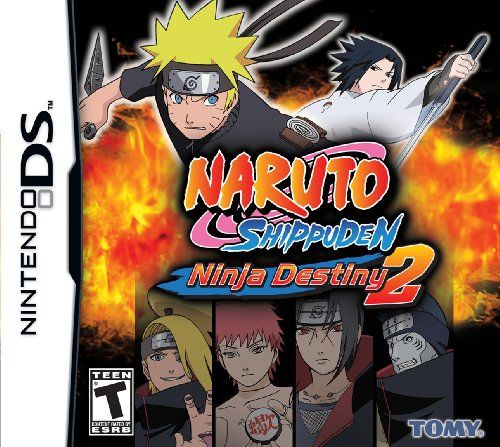 NARUTO Shippuden: Ninja Destiny 2 - Nintendo DS:   Players will enjoy all new playable characters like members of the Akatsuki, and new jutsu techniques  All-new NARUTO Shippuden characters as well as legacy characters sporting their new NARUTO Shippuden looks  Choose your favorite character and travel through mazes - battle and defeat opponents to improve character performance and fight your way to the end in the all-new 3D Quest Mode  Duke it out in fast paced, high intensity fights ...