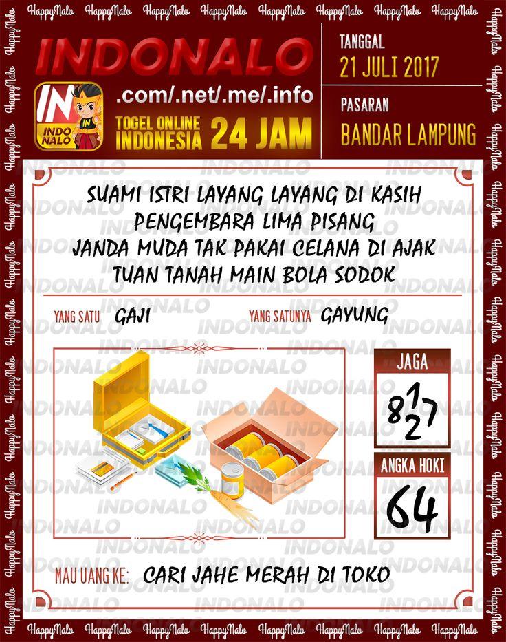 Streaming 5D Togel Wap Online Indonalo Bandar Lampung 21 Juli 2017