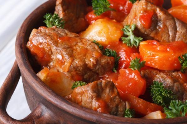 Receta De Carne Guisada De Ternera