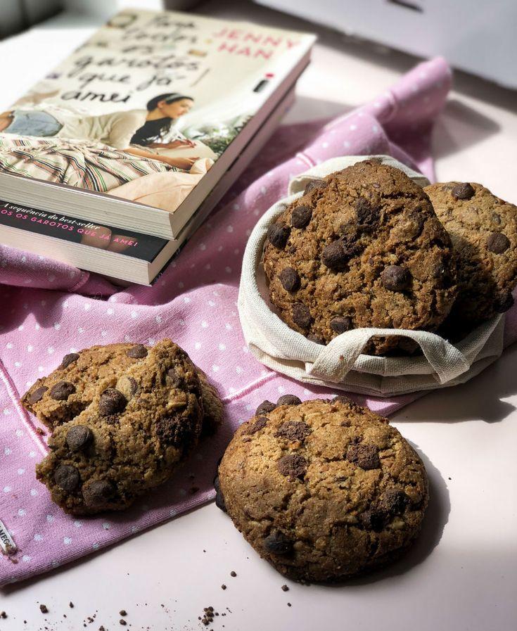Receita: Cookie com aveia e linhaça – Cookterapia