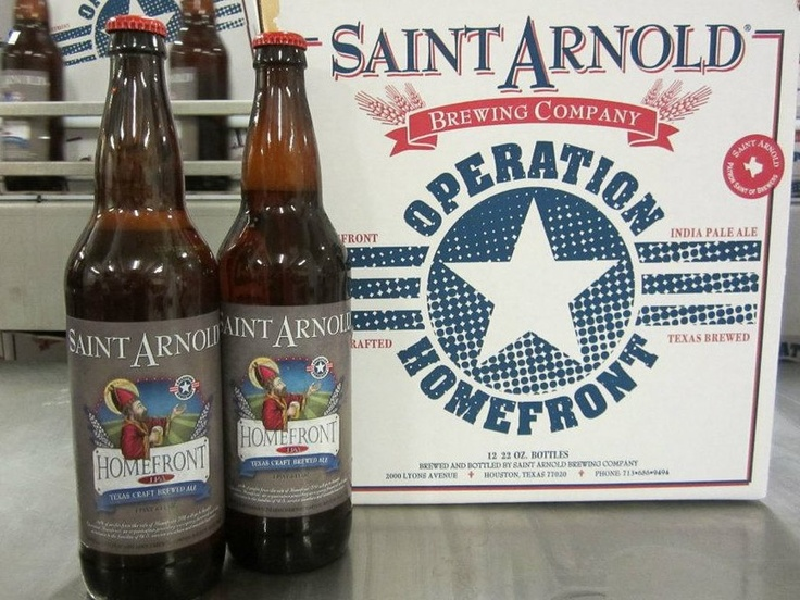 On the Homefront: Saint Arnold's brews up limited edition beer to benefit soliders in need
