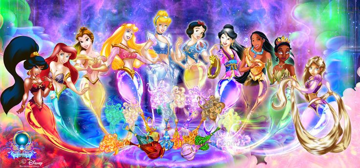 I Dream of Disney Princesses   This is so cool, I love it!!