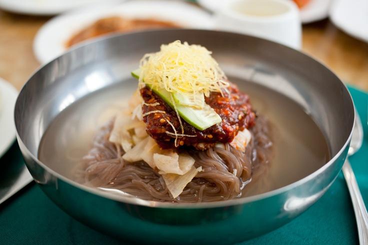 Cold noodle soup, Nordkorea