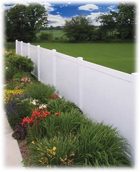 Beautiful Vinyl Fence Styles Throughout Inspiration