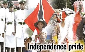 As the photo says Independence Pride. Happy 51st Independence Trinidad and Tobago.