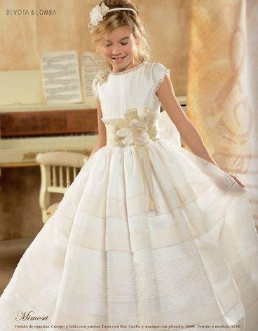 Confeccion de vestidos de primera comunion medellin
