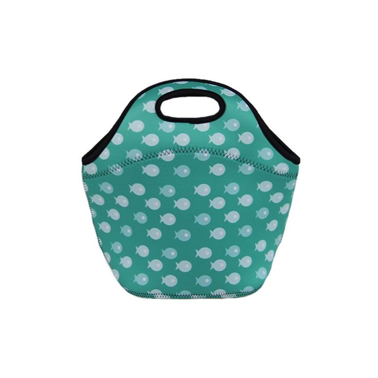Neoprene picnic bag, thermal lunch bag, insulated cooler bag