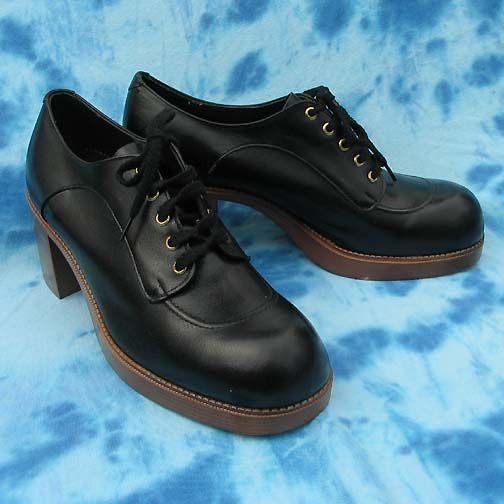 70's FASHION mens vintage UNWORN shoes