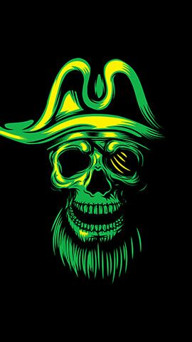 Pirate Skull Android Phone Wallpaper, Wallpapers For Mobile Phones, Free Hd Wallpapers, Phone
