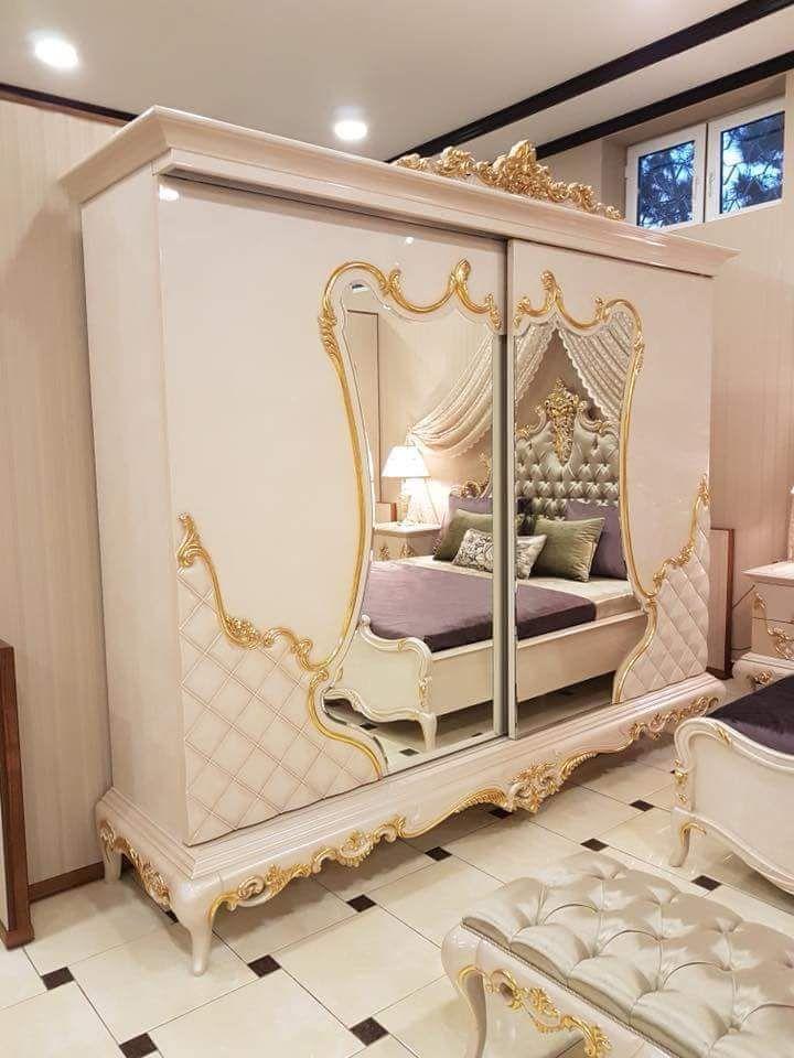 غرفة نوم مودرن 2019 بيضاء Modern Bedroom Sleeping Room Furniture
