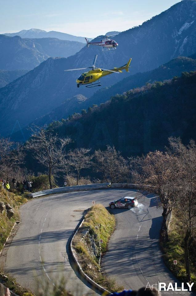WRC pic of the day! Robert Kubica/ Maciek Szczepaniak (RK World Rally Team) @ Rallye Monte-Carlo 2015 Photo: Fernando Lavín