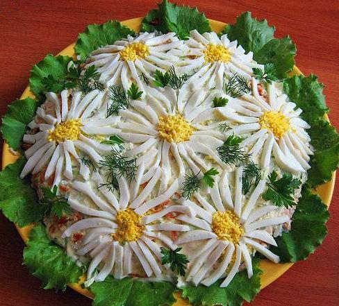 dekoracja sałatki