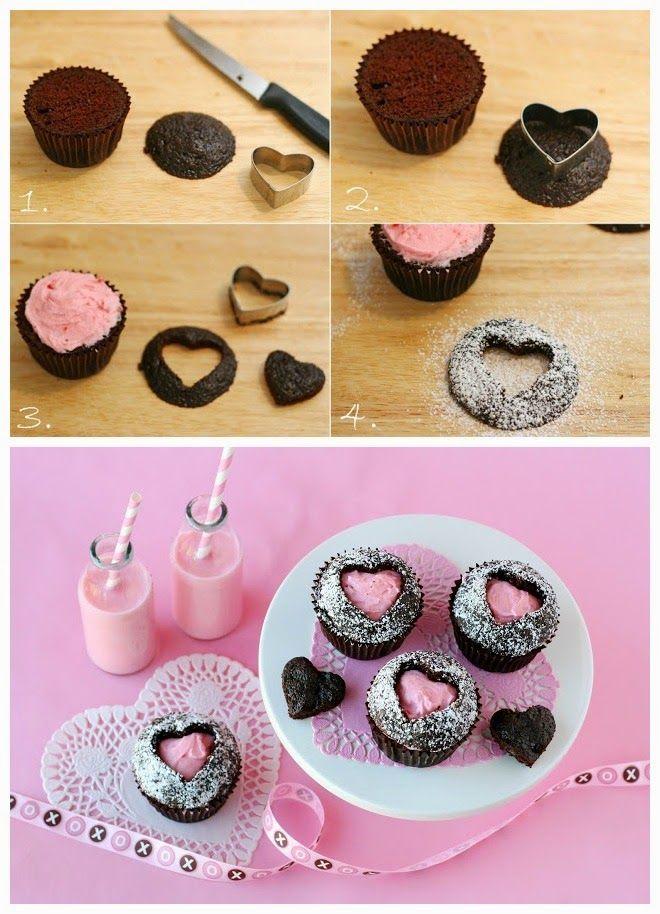 Sweet Heart Cupcakes