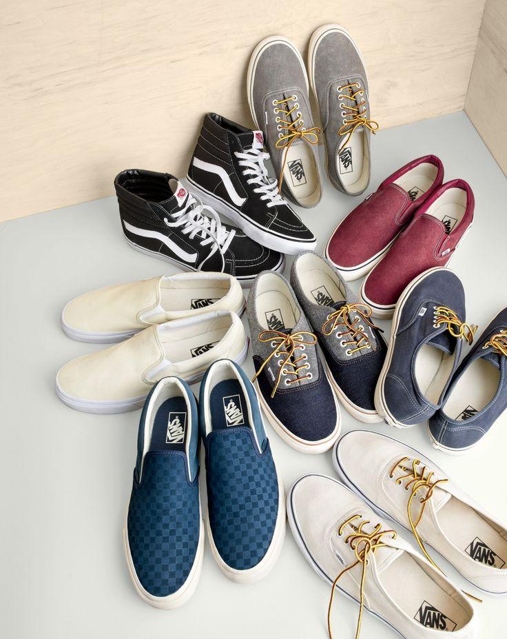 J.Crew men's Vans® sneakers.