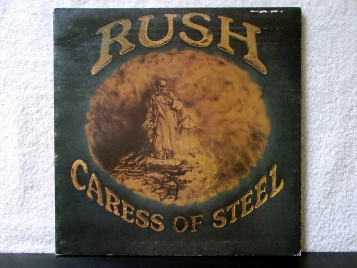 Rush- Caress Of Steel. 1975 Mercury Records vintage vinyl LP 33. Classic non-commercial hard core Rush. The Necromancer, Bastille Day.. by AbqArtistry on Etsy