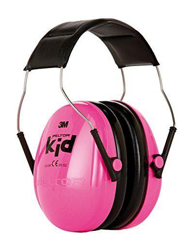 Cheap 3M PELTOR Kids Ear Muffs Pink H510AK-442-RE deals week