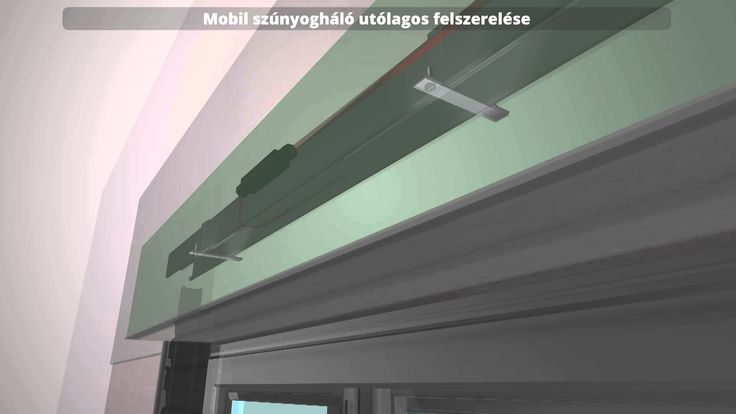 3D animáció - Alumark zsaluziarendszer összeszerelési útmutató