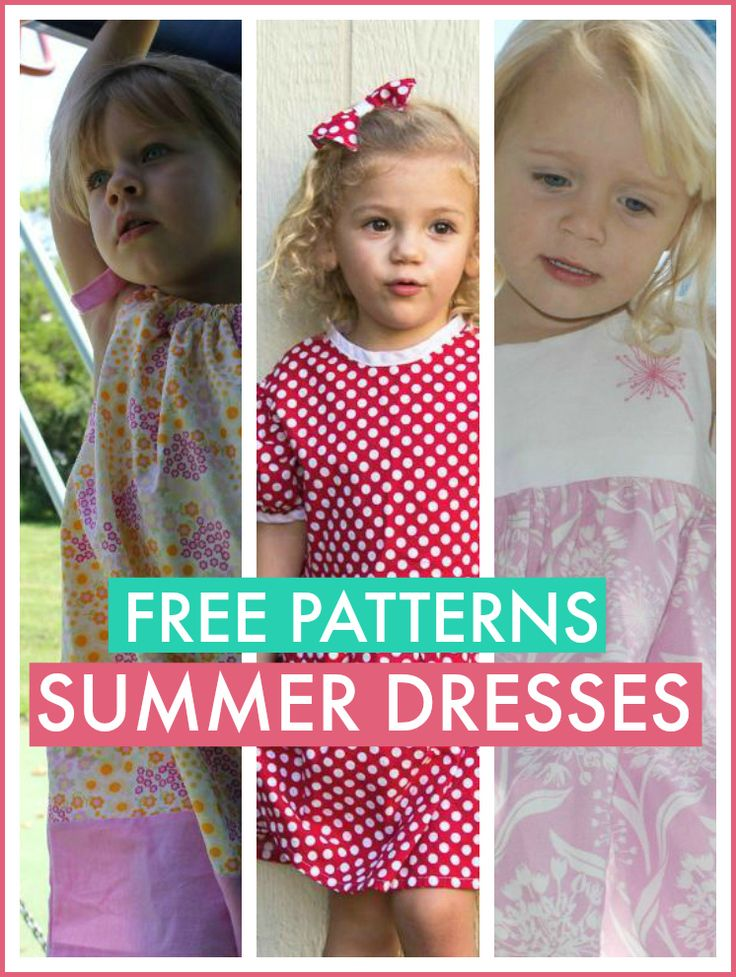 A lovely collection of free girls dress patterns, each one is pretty and modern. The patterns are super simple to sew even if you're not great at crafts ...