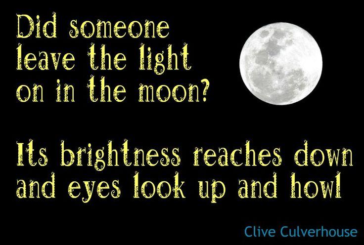 Poetry Micropoetry - Werewolves, Werewolf, moon, full moon