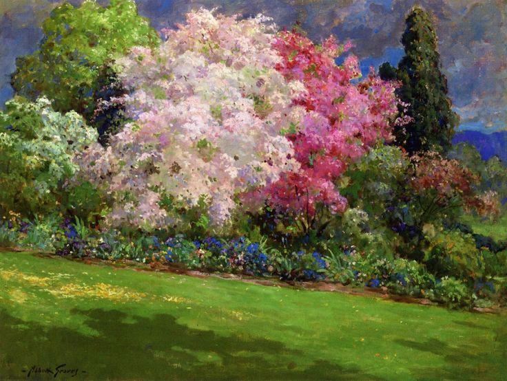 The Athenaeum - Spring Garden, Kennebunkport (Abbott Fuller Graves - )