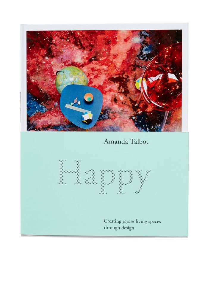 Happy by Amanda Talbot. Retails at $69.99 from Murdoch Books.