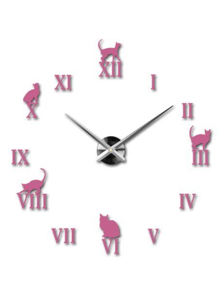 Krásné nástěnné hodiny - Černá kočka Kód:  12S020-RAL4006-S-COLOR** Vyber si barvu podle sebe! Přišel čas zútulnit si své bydlení novými hodinami. Velké nástěnné 3D hodiny jsou krásnou dekorací Vašeho interiéru. Už nikdy nebudete opozdí.