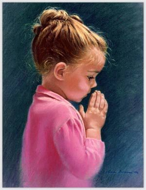 praying children images | Child in Prayer.