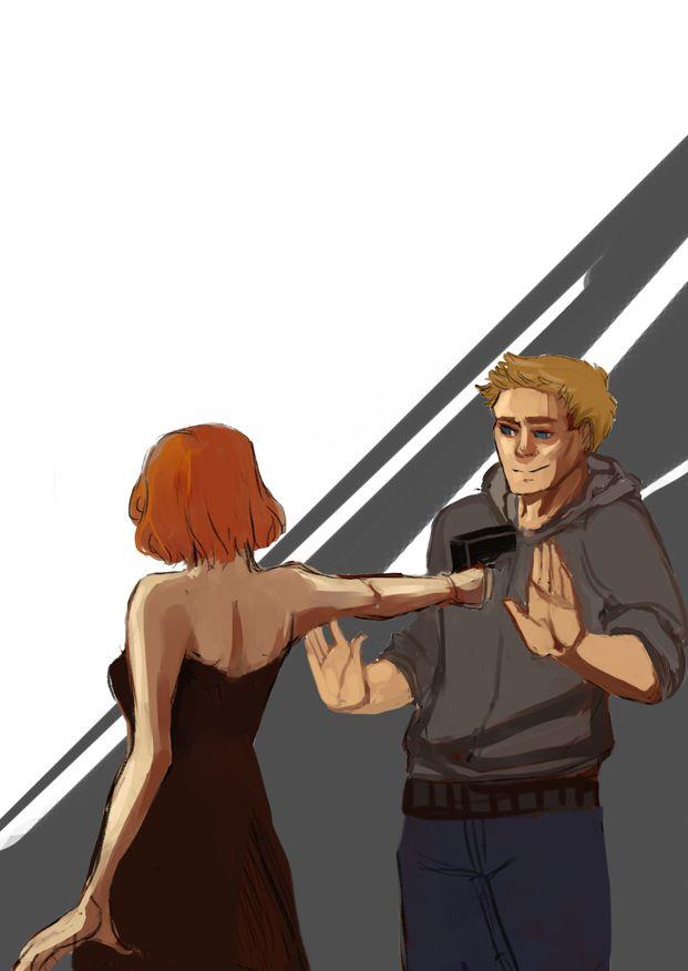 clintasha fan art | Hawkeye & Black Widow Clint & Natasha