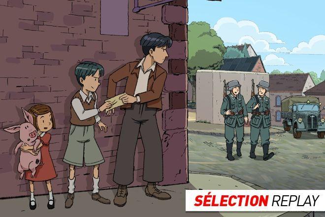 """Deuxième Guerre Mondiale : docs pour exploiter le dessin animé """"les Grandes Grandes Vacances"""""""