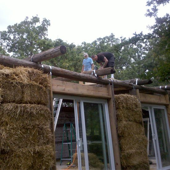 17 Best Images About Straw Bale Homes On Pinterest