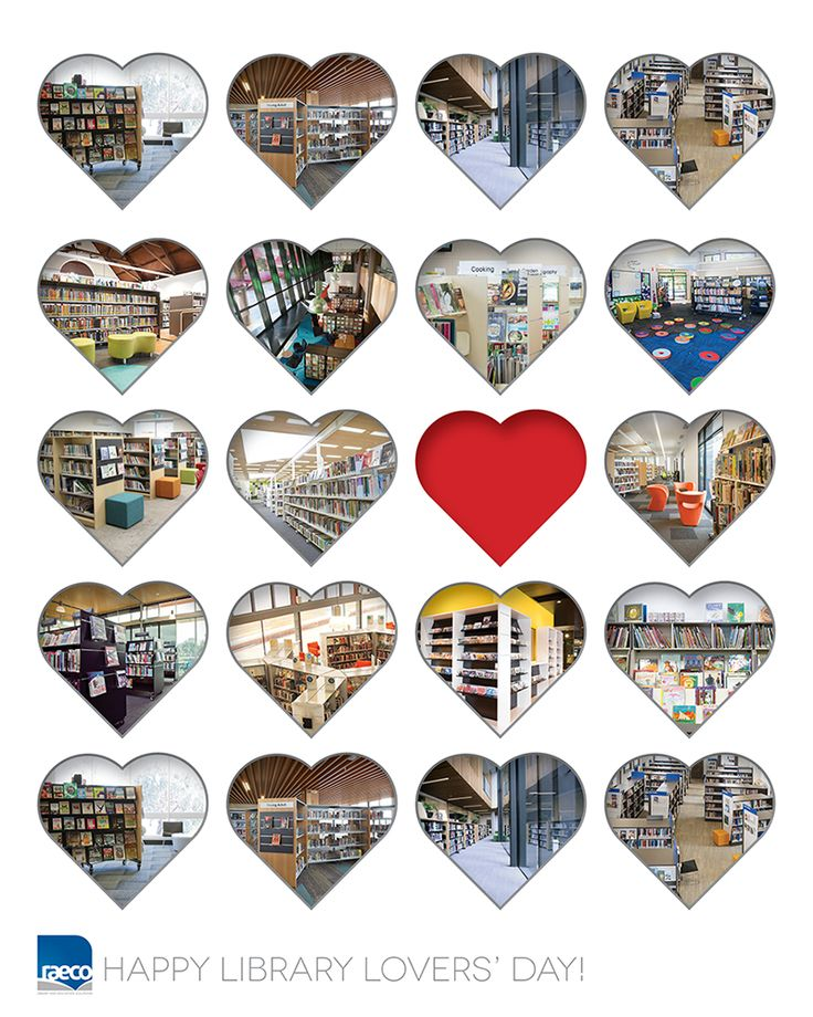 Happy Library Lover's Day!  #LibraryLoversDay #LibraryLove #ValentinesDay