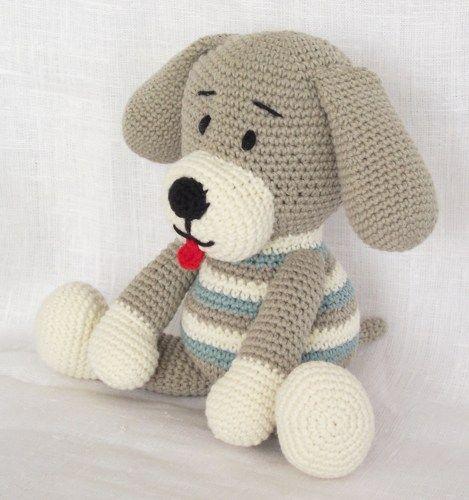 Amigurumi, собака, вязание крючком, узор, рисунок крючком собаки, животное крючком