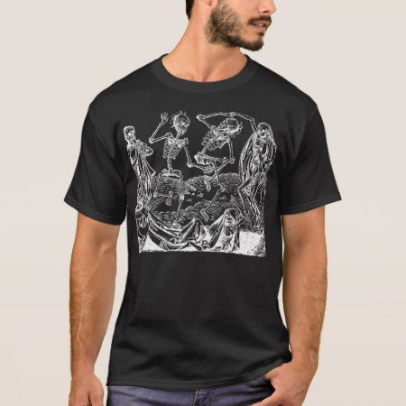 Dance Of Death By Michael Wolgemut 1493 T-Shirt - click to get yours right now!